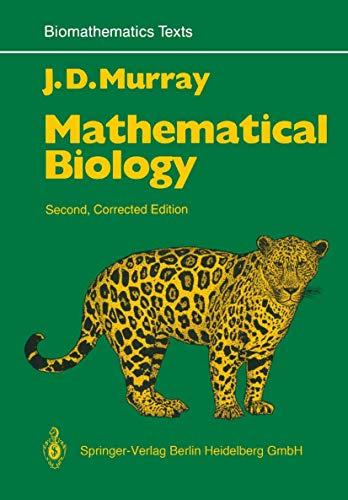 9783540572046: Mathematical Biology (Biomathematics)