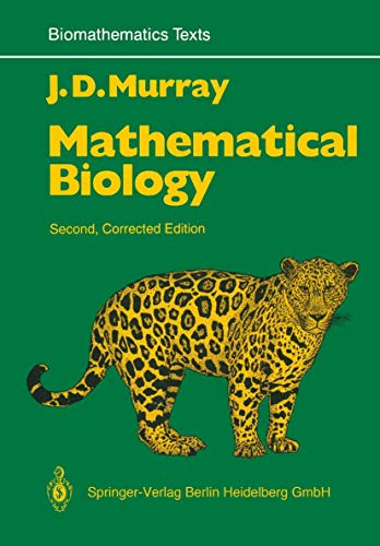 9783540572046: Mathematical Biology (Biomathematics)