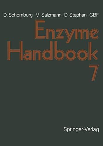 9783540572466: Enzyme Handbook: Class 1.5-1.12 - Oxidoreductases v. 7