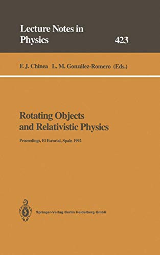Rotating Objects and Relativistic Physics: Proceedings of