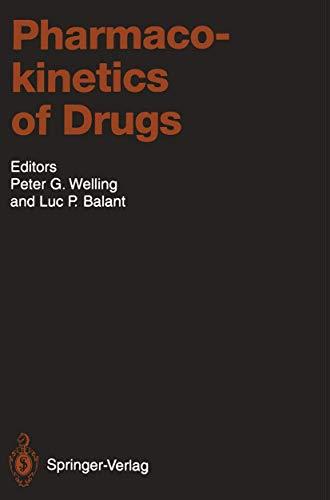 9783540575061: Pharmacokinetics of Drugs (Handbook of Experimental Pharmacology)