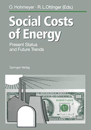 9783540578413: Social Costs of Energy: Present Status and Future Trends