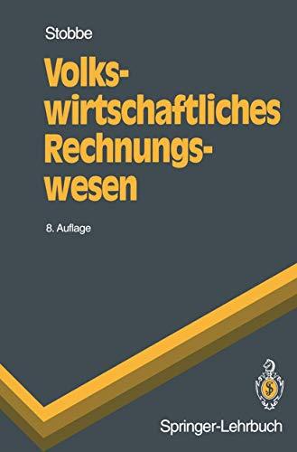 9783540578512: Volkswirtschaftliches Rechnungswesen (Springer-Lehrbuch)