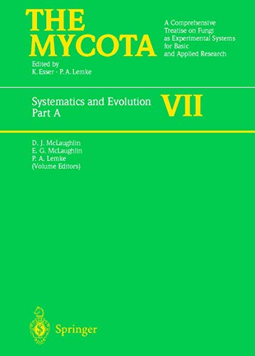 9783540580089: Systematics and Evolution: Part A: A Comprehensive Treatise on Fungi as Experimental Systems for Basic and Applied Research: Pt. A (The Mycota)