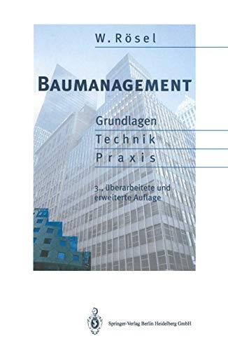 9783540580386: Baumanagement 3rd Ed