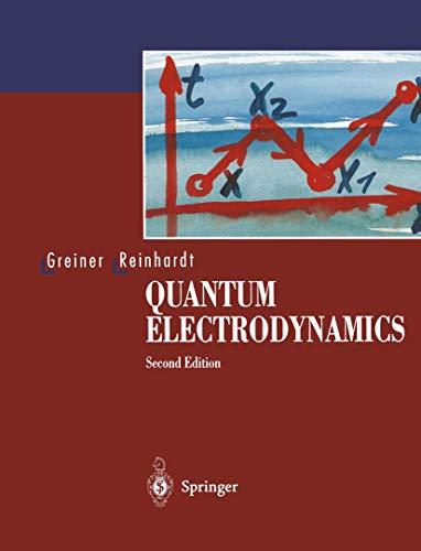 9783540580928: Quantum Electrodynamics