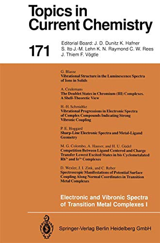 Electronic and Vibronic Spectra of Transition Metal: Yersin, Hartmut