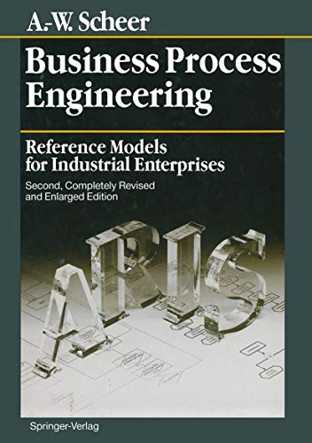 9783540582342: Business Process Engineering: Reference Models for Industrial Enterprises