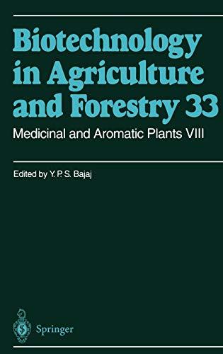Medicinal and Aromatic Plants VIII: MEDICINAL AND AROMATIC PLANTS VIII -