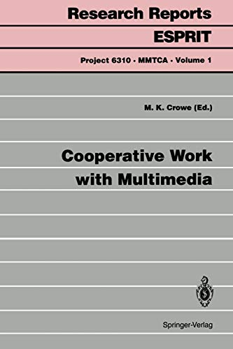 9783540583158: Cooperative Work with Multimedia (Research Reports Esprit)