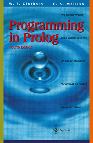 9783540583509: Programming in Prolog: Using the ISO Standard