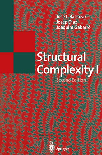 9783540583844: Structural Complexity I (Texts in Theoretical Computer Science. An EATCS Series)