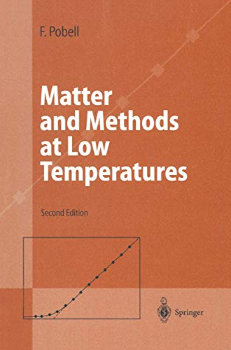 9783540585725: Matter and Methods at Low Temperatures