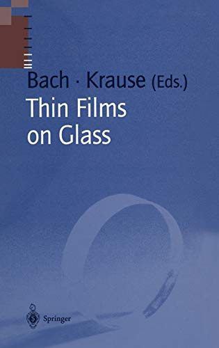 9783540585978: Thin Films on Glass (Schott Series on Glass and Glass Ceramics)