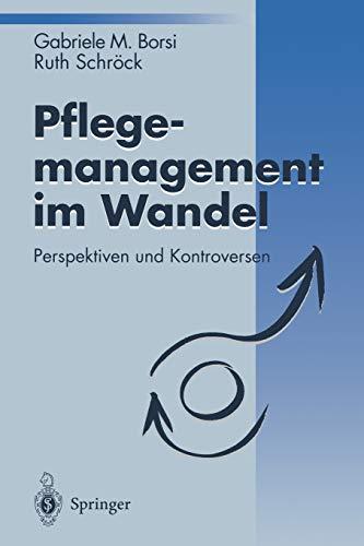 9783540586425: Pflegemanagement im Wandel: Perspektiven und Kontroversen
