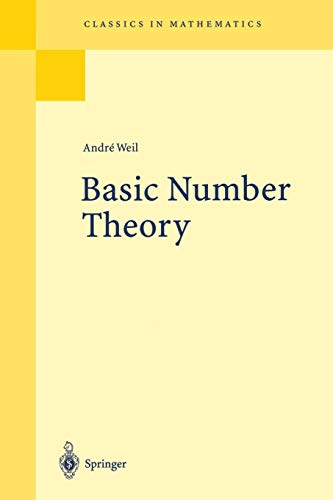 Basic Number Theory [Oct 04, 2013] Weil, Andre