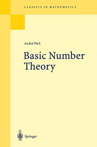 9783540586555: Basic Number Theory (Grundlehren der mathematischen Wissenschaften)
