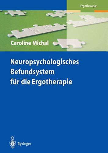 9783540589495: Neuropsychologisches Befundsystem Fr Die Ergotherapie (1. Aufl. 1996. Korr. Nachdruck) (Rehabilitation Und Prvention)