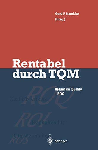 Rentabel Durch Total Quality Management: Kamiske Gerd F.