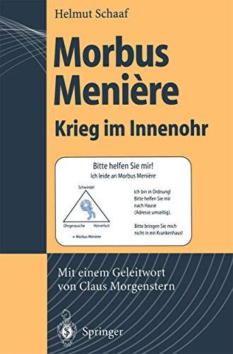 9783540591627: Morbus Meniere: Krieg Im Innenohr