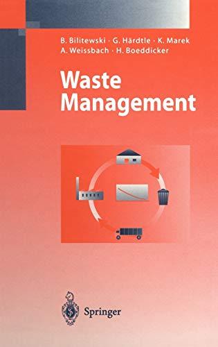 9783540592105: Waste Management
