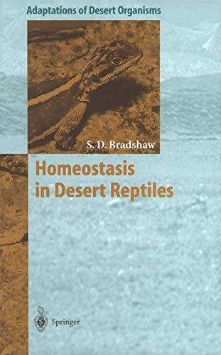 9783540592648: Homeostasis in Desert Reptiles (Adaptations of Desert Organisms)
