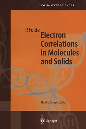 9783540593645: Electron Correlations in Molecules and Solids (Springer Series in Solid-State Sciences)