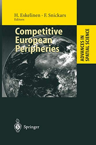 9783540602118: Competitive European Peripheries (Advances in Spatial Science)