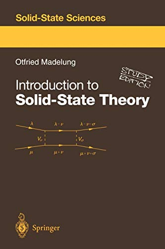 9783540604433: Introduction to Solid-State Theory (Springer Series in Solid-State Sciences)