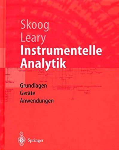 9783540604501: Instrumentelle Analytik: Grundlagen - Geräte - Anwendungen (Springer-Lehrbuch) (German Edition)