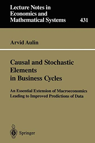Causal and Stochastic Elements in Business Cycles: Arvid Aulin