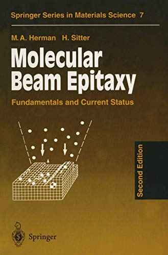 9783540605942: Molecular Beam Epitaxy: Fundamentals and Current Status (Springer Series in Materials Science)