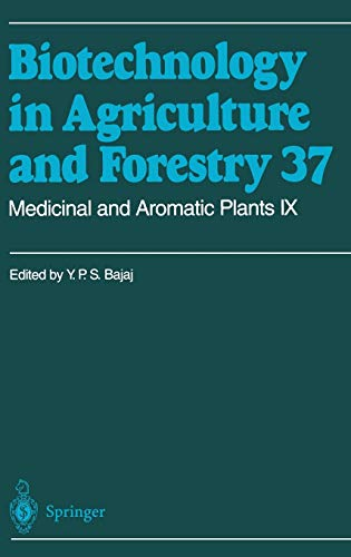 9783540605973: Medicinal and Aromatic Plants IX (Biotechnology in Agriculture and Forestry) (v. 9)