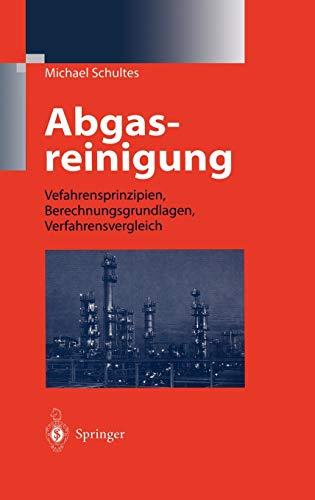 Abgasreinigung (Hardback): Michael Schultes