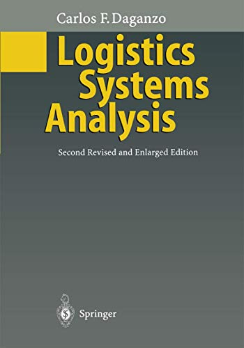 9783540606390: Logistics Systems Analysis