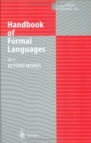 9783540606499: Handbook of Formal Languages: Volume 3. Beyond Words