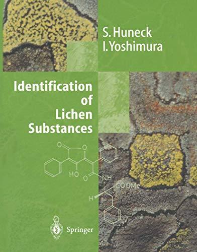 9783540608110: Identification of Lichen Substances