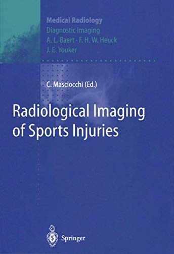 9783540608707: Radiological Imaging of Sports Injuries