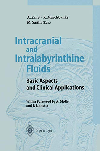 9783540609797: Intracranial and Intralabyrinthine Fluids: Basic Aspects and Clinical Applications