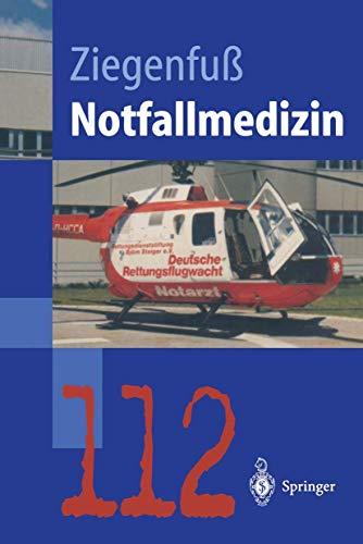 9783540609865: Notfallmedizin (Springer-Lehrbuch)