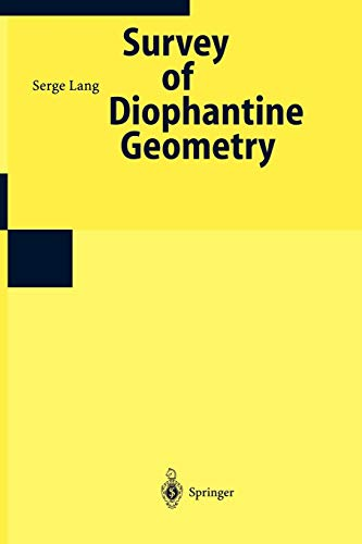 Number Theory III : Diophantine Geometry - Lang, Serge