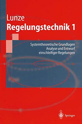 9783540614043: Regelungstechnik 1 (Springer-Lehrbuch)