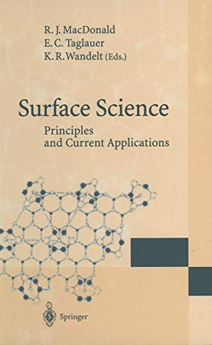 Surface Science: Principles and Current Applications