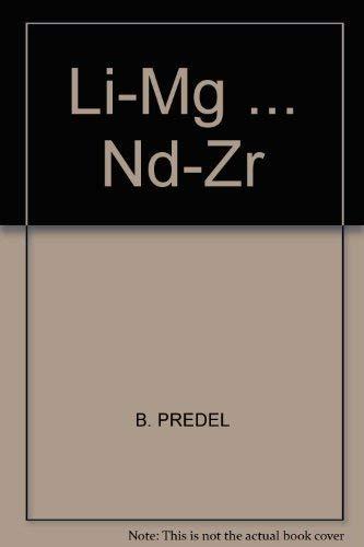 Li-Mg . Nd-Zr (Hardcover): B. Predel