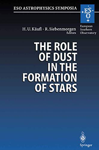 9783540614623: The Role of Dust in the Formation of Stars: Proceedings of the ESO Workshop Held at Garching, Germany, 11–14 September 1995 (ESO Astrophysics Symposia)