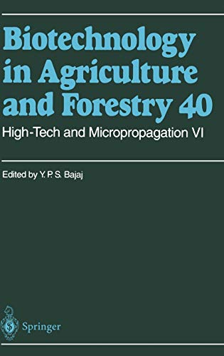 High-Tech and Micropropagation VI (Hardback)