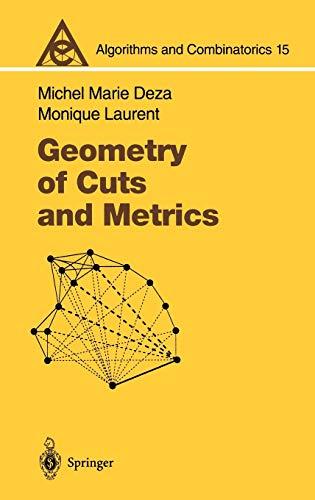 9783540616115: Geometry of Cuts and Metrics (Algorithms and Combinatorics)