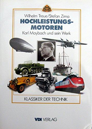 9783540622444: Hochleistungsmotoren (VDI-Buch)