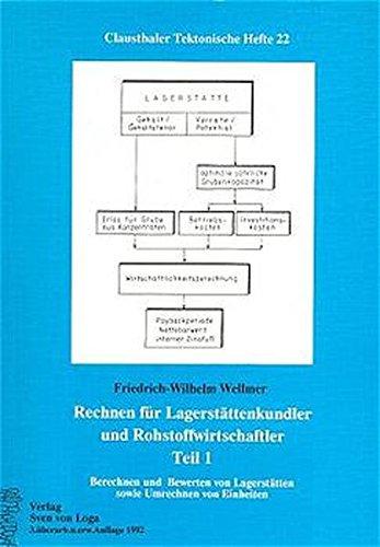 9783540624899: Rechnen Fã R Lagerstã¤ttenkundler Und R (Clausthaler Tektonische Hefte)