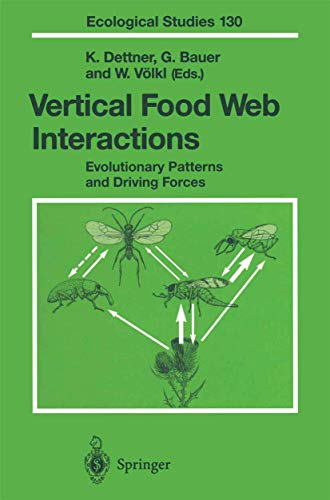 9783540625612: Vertical Food Web Interactions: Evolutionary Patterns and Driving Forces (Ecological Studies)
